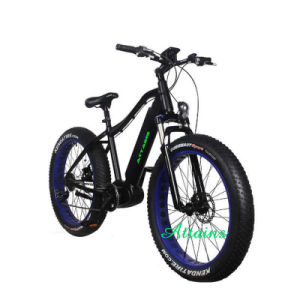 26′′ Alloy Cheap Fat Tire Snow Beach Mountain Electric Bike/Bycicles with Best Quality pictures & photos