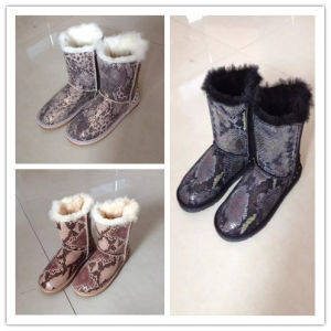 Lady Winter Warm Shoes/Boots (FB-80539) pictures & photos