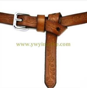 Skinny Genuine Leather Belt for Lady pictures & photos