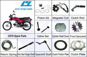 Honda CD70 70cc Motorcycle Spare Parts