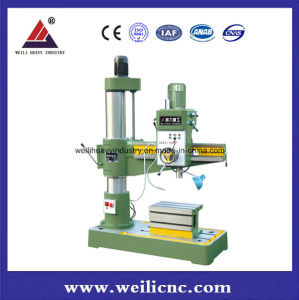 Industrial Radial Drilling Machine for Cast Iron and Steel Parts