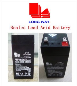 4V5ah Battery Tools Scale Rechargeable Battery Sealed Lead Acid Battery pictures & photos