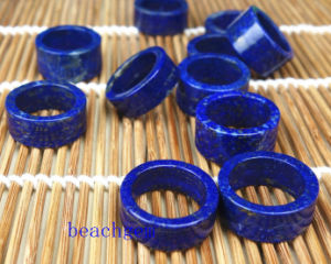 Jewelry Parts-Natural Lapis Rings