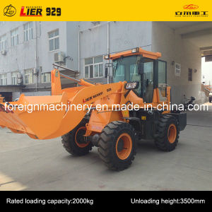 Manufacture of High Quality Hydraulic Transmission 2 Tons 929 Used Wheel Loader pictures & photos