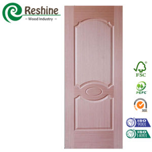 Comptitive Sapelle Veneer HDF Moulded Door Skin