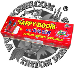 Ground Bloom Flower with Bang Spinner Fireworks Toy Fireworks pictures & photos