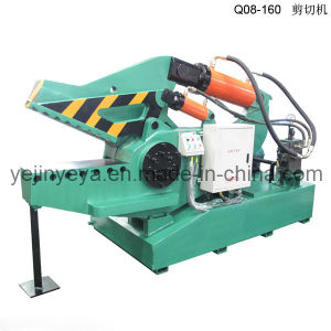 Q08-160b Hydraulic Crocodile Shear for Aluminum Pipes (integration design) pictures & photos