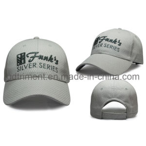 100% Polyester Constructed Embroidery Sport Baseball Mesh Cap (TRB050) pictures & photos