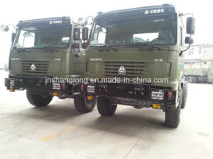 6X6 Cargo Truck 9m Flatbed Truck Awd pictures & photos