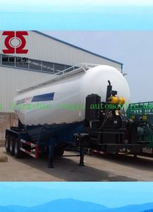 Powder Material Bulk Cement Transport New Tank Truck Semi Trailer pictures & photos