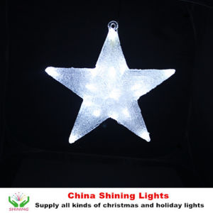 Acrylic Star Christmas Light Christmas Holiday Decoration