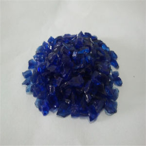 2-3mm Nickel and Blue Brocken/Crushed Glass Sand/Rock/Cullets pictures & photos