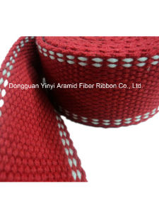 3.8cm Red Plain Polyester Webbing for Garment Accessories pictures & photos