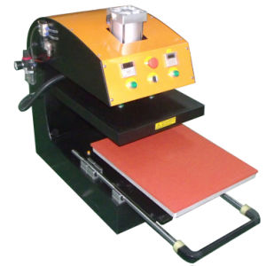 Automatic Pneumatic Single Station Heat Press Machine (CY-F) pictures & photos