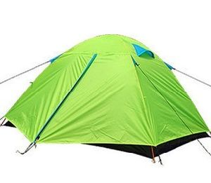 2 Person 210t Polyester Double Skin Camping Tent (MW4020) pictures & photos