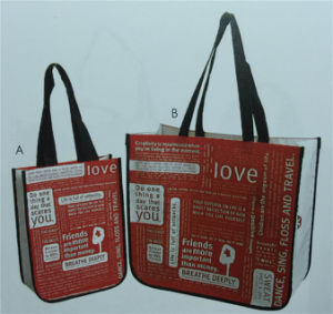 Polyester Bag with Full Printing Logo Yx-150