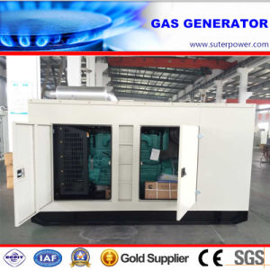 75kVA/60kw Biogas/LNG/CNG/Natural Gas Generator with Soundproof Container