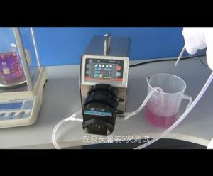BT300F Intelligent Dispensing Peristaltic Pump 0.006-1600mL/Min pictures & photos