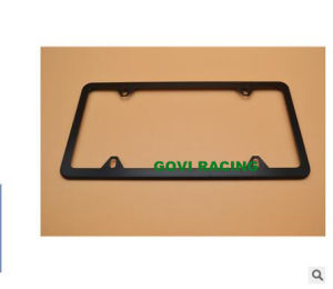 America Size 315X160mm Car License Plate Frame with Stainless Steel Chromed pictures & photos