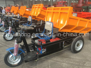 2017 New Design Hot Selling Flat Cargo Truck for Farm Cargo/Three Wheels Electric Tricycle pictures & photos