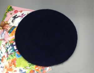 Hot Sale Plain Cheap High Quality Fashionable Wool Hood Beret pictures & photos