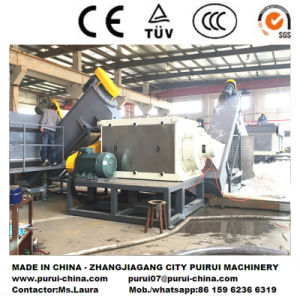 Waste Plastic Recycling Line PE Film Washing Production Machine pictures & photos