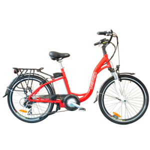 36V Lithium Battery 26 Inch City Electric Bike