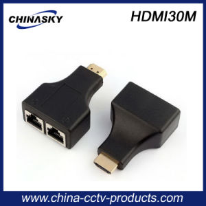 30m 1080P Cat5e/6 HDMI Extender for CCTV System (HDMI30M) pictures & photos