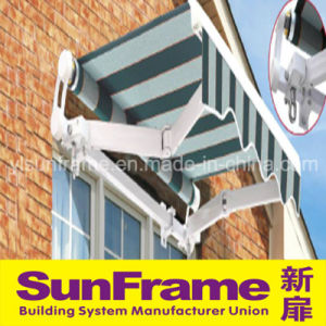 Aluminium Adjustable Awning with Remote Control pictures & photos