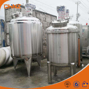 Heated Jacket Acid Chemical Juice Mixing Tank Stainless Steel 304 / 316
