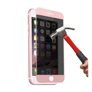 Hot Selling Japan Glass 3D Printing Tempered Glass for iPhone 6s pictures & photos