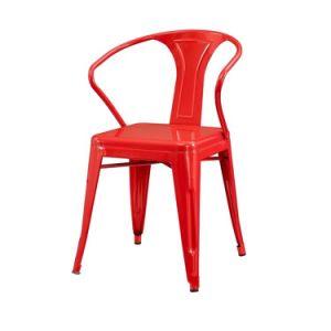 Super Vintage Bistro Dining Chair 30 Inch Black Industrial Tolix Metal Chair With Arms Spiritservingveterans Wood Chair Design Ideas Spiritservingveteransorg