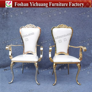 Yc-Ss32-01 Luxury Hotel Furniture Wedding Gold Queen and King Throne Chairs for Sale pictures & photos