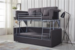 China Space Saving Functional Sofa As A Double Decker Bunk Bed