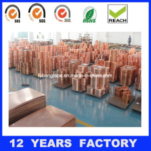 Professional Manufacturer Best Service Rolled Thin Copper Foil Tape for PCB pictures & photos