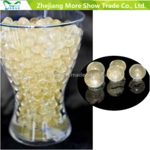 Golden Glitter Crystal Soil Water Beads Centrepieces Wedding Decorations  pictures & photos