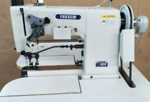 Double Needle Moccasin Sewing Machine pictures & photos