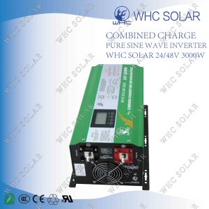 High Quality 24V/48V Pure Sine Wave 3000W Solar Inverter pictures & photos