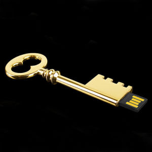 Chinese Style Ancient Golden Key USB Flash Drive pictures & photos
