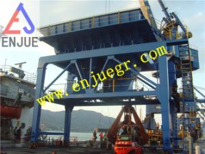 Mobile Type Dusting Hopper Bulk Cargo Discharging Hopper with Dust Removal Unit pictures & photos