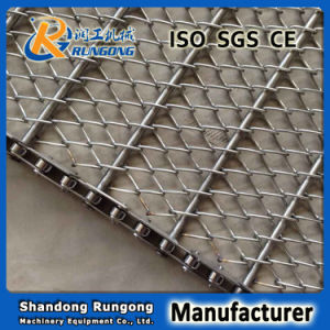 Inox Conventional Wire Mesh Specifications, Stainless Conveyor Belt Link Chain pictures & photos