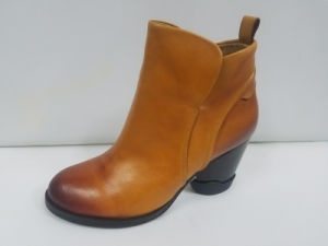 Lady Leather England Wind Restoring Ancient Ways Is The Top Gradients of Ankle Boots pictures & photos