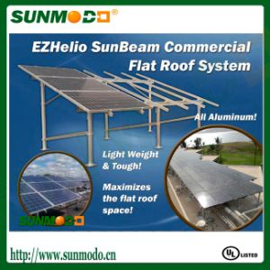 Easy Installation Solar Panel Frames & Supports for Commercial Roof