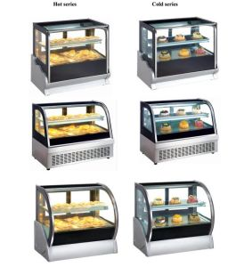 Countertop Cake Pastry Display Coolers for Bakery Shop