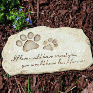 Resin Garden Stepping Stone of Garden Pet Devotion pictures & photos