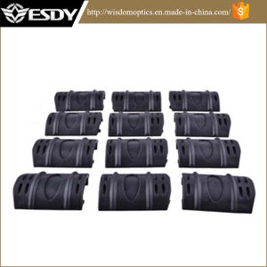 "Esdy Black 2"" Rubber Rail Cover 12pack Picatinny Rail Covers pictures & photos"