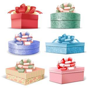 Gift Packaging Box, Round Box, Heart Shaped Box with OEM Custom and in Stock