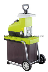garden shredder. 2800w electric silent garden shredder, branch tree shredder