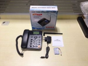 GSM Fwp, GSM Desktop Phone 2g/3G Available, 1SIM /Dual SIM Support pictures & photos