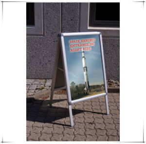 Aluminum Frame Outdoor Poster Display Stand A4 pictures & photos